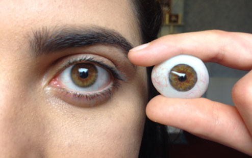 39c8f4b4c77 Loyer Artificial Eyes